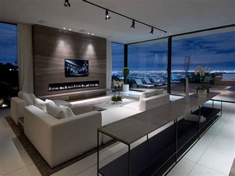 Homes With Modern Interiors Modern Luxury Interior Design Living Room Modern Luxury