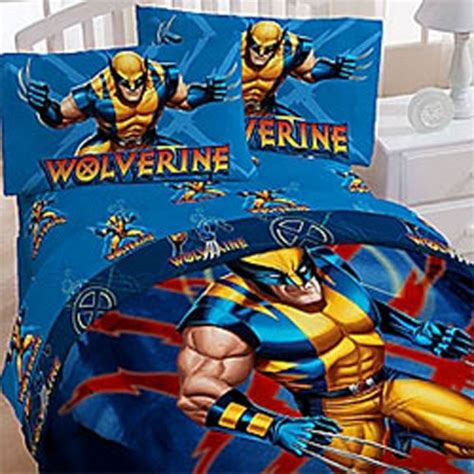 marvel comics bedding new wolverine xmen marvel comics comforter bedding set ebay