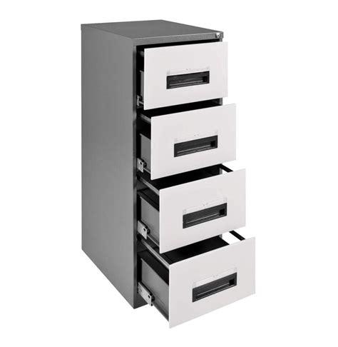 Steel 4 Drawer Filing Cabinet White mist   Lowest Prices & Specials Online   Makro