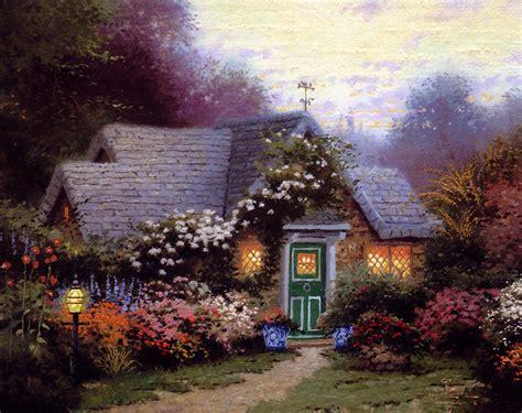 cottage viaggi pin bellissimi quadri di kinkade le mie passioni i