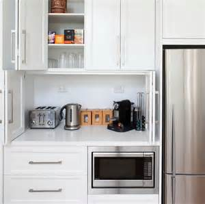Storage Ideas For Small Kitchens by 42 Creative Appliances Storage Ideas For Small Kitchens