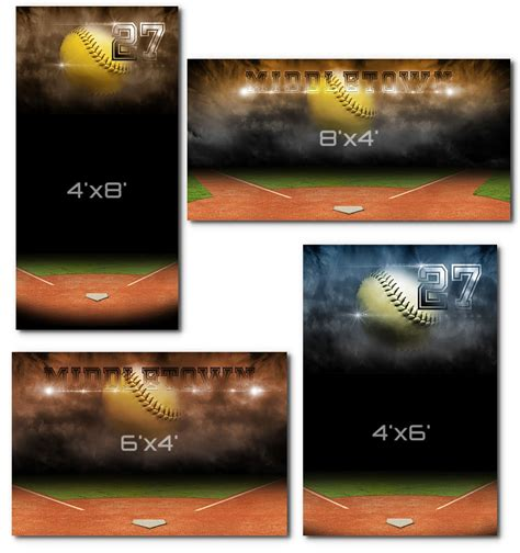 Softball Banners Templates Softball Team Banner Templates