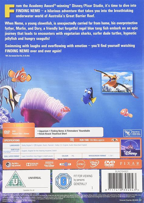 Finding Uk Finding Nemo Dvd 2013 Www Pixshark Images Galleries With A Bite