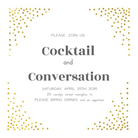 cocktail invitation template cocktail invite gangcraft net