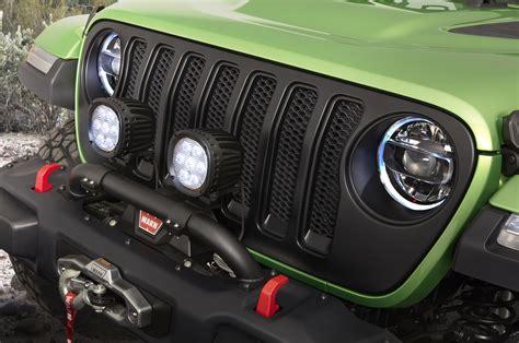 mopar jeep accessories mopar trots out sweet modified jeep wranglers automobile