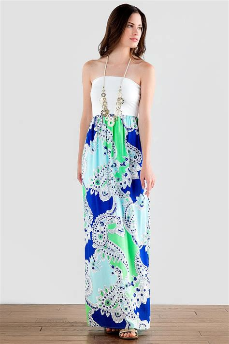 Dress Lusia Maxy st lucia paisley maxi dress s