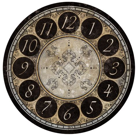 printable clock design what time is it time to get your clockface craft on