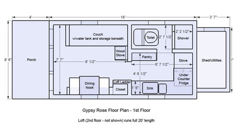 tiny house on wheels floor plans tiny house design ideas for one story house design front size 6 10 m