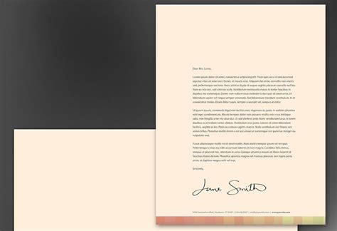 photography letterhead templates letterhead template for design for illustrator artist