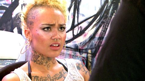 donna black ink crew fired ceaser fires donna black ink crew clip vh1