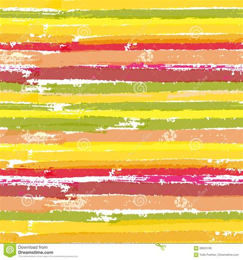 pattern brush color seamless vector pattern with color brush stripes stock