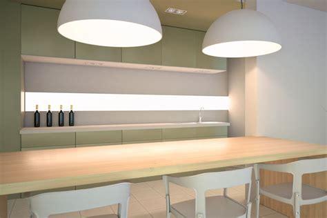 küchen deckenventilator mit licht indirekte k 252 che beleuchtung