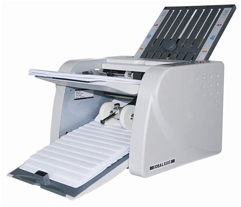 Best Paper Folding Machine - ideal 8306 paper folder paramount business office