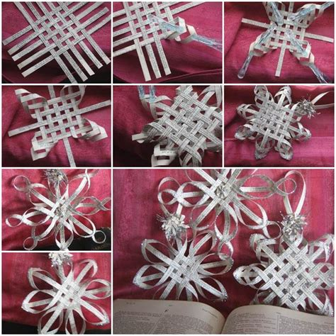 How To Make Paper Snowflake Ornaments - best 25 3d paper snowflakes ideas on paper
