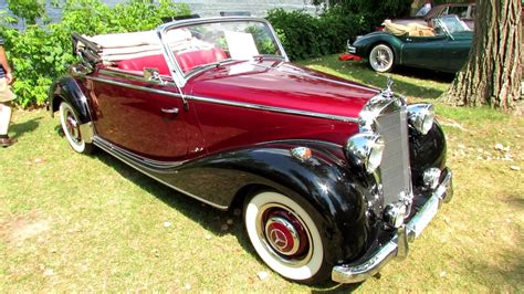youtube search 1940s elegance 1940 mercedes benz 170s exterior and interior 2012