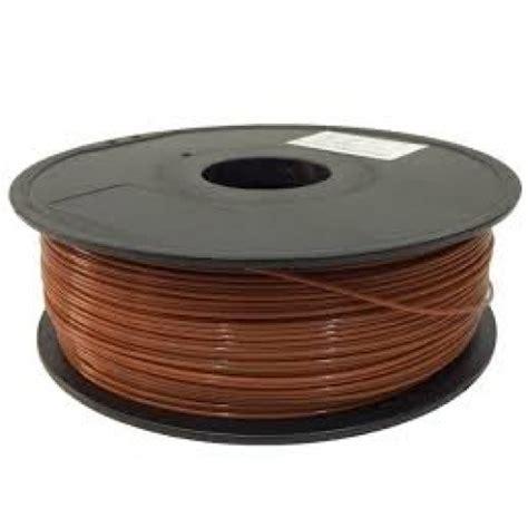 3d Print Filament Reddish Brown 3d printer filament abs 1 75 brown at mg labs india