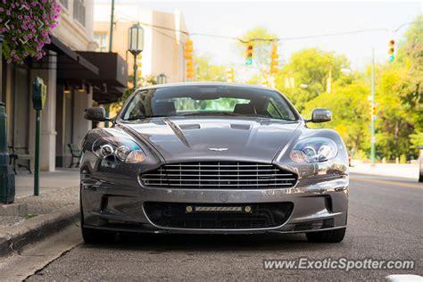 Aston Martin Michigan by Aston Martin Dbs Spotted In Birmingham Michigan On 09 13 2015