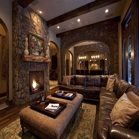 Rustic Home Interior Designs by Choose Rustic Interior Design Theme To Stay Close To