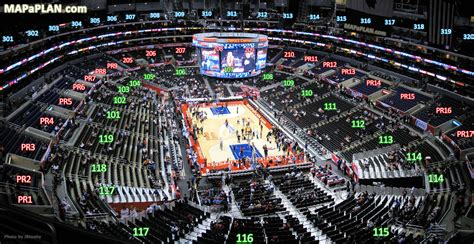 virtual c section staple center seating chart view staples center seat