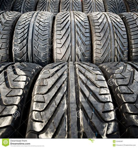 pattern and texture photography used old car tires detail pattern background or texture