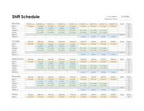 Schedule Template In Excel by Best Photos Of Nursing Schedule Template Excel Free