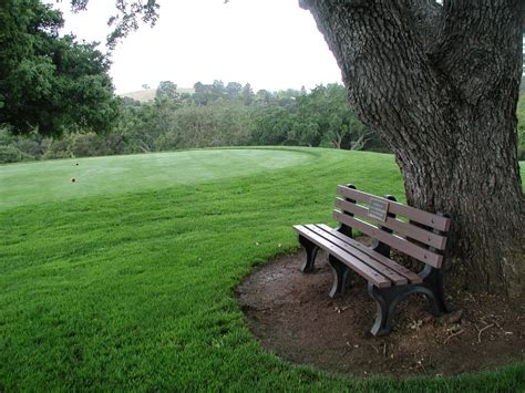 golf benches stanford golf course superintendent s blog new benches 8