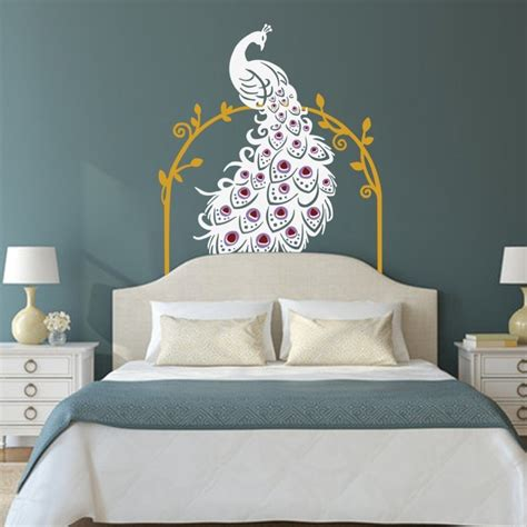 peacock wall stickers peacock wall sticker 28 images peacock wall decals