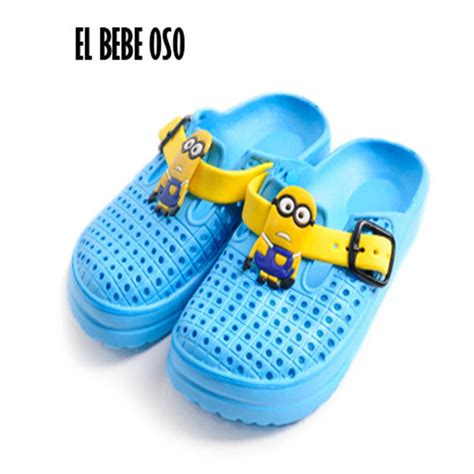 Sandal Sancu Minion Size 21 24 1 get cheap minion slippers aliexpress alibaba