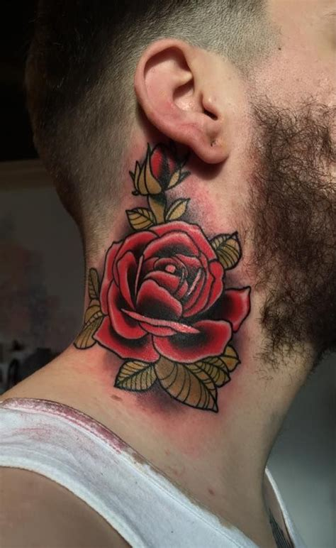 rose tattoo on guy best 25 for guys ideas on
