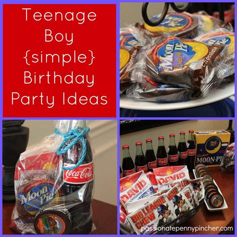 themes for teenage birthday parties teenage boy birthday party ideas passionate penny pincher