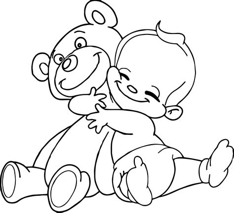 bear hug coloring pages two people giving a hug bear pages coloring pages