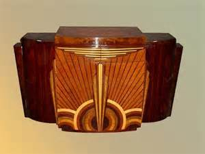 Fabulous art deco furniture adding rich colors and unique designs to