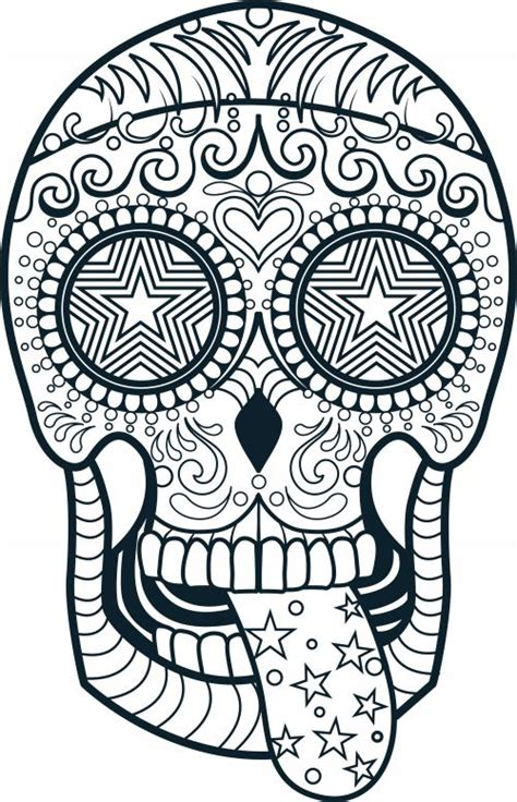 skull coloring pages for adults sugar skull coloring page 3 coloring coloring books and
