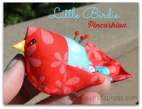Free Pincushion Patterns Quilting by Quiltscapes Pincushion