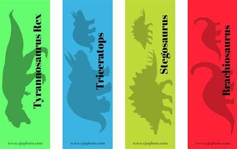 cjo photo printable bookmarks dinosaurs