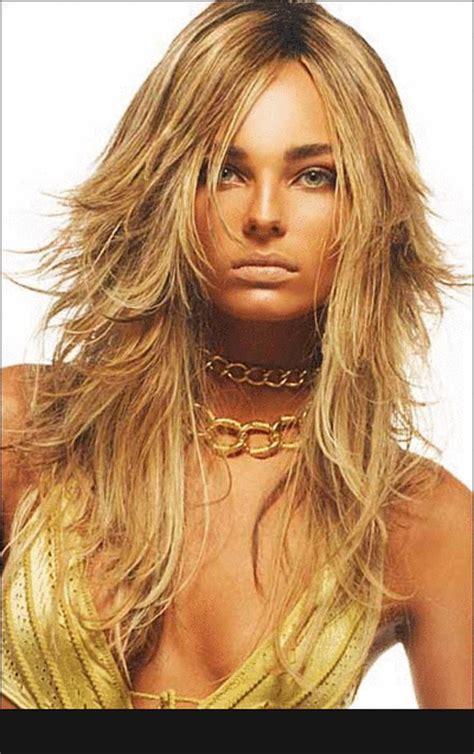 imagenes de cortes de pelo en capas corte capas de pelo largo con capas cortas cecilia nams