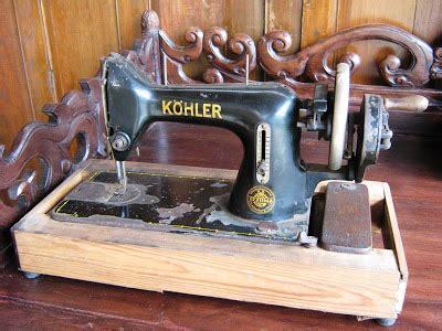Mesin Jahit Kuno dijual mesin jahit kohler kuno barang antik klasik