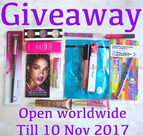 Makeup Giveaway November 2017 - cosmetopiadigest fall makeup giveaway 2017 worldwide ends nov 10th golden