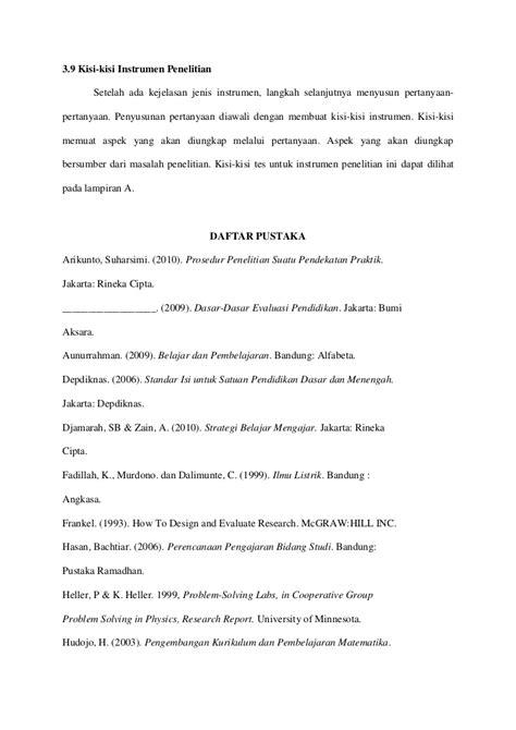 format proposal tesis itb proposal skripsi metlit tugas iii