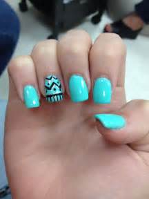 11 Light Blue Nail Designs Images Light Blue And White Light Nail Design