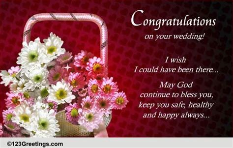 wedding card congratulations and best wishes congratulations best wishes free wedding etc ecards