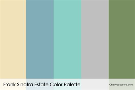color palette color palettes chic productions