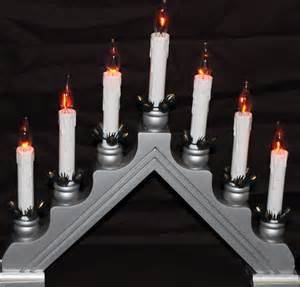 candle bridge window christmas light flickering candles