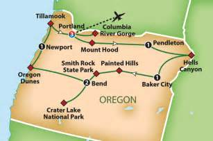 map of day oregon mayflower tours