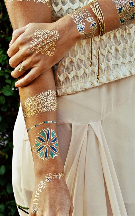 flash tattoo isabella isabella flash tattoos gold and navy showpo