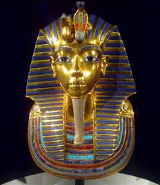 king tut mask template mask of tutankhamun a replica of tutankhamun s