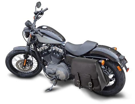 Saddlebags For Harley Davidson by Harley Davidson 28 Liter Saddlebag Black Leather For