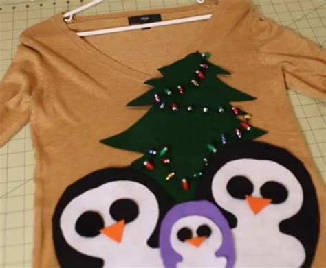 how to make an ugly christmas sweater ugly sweater ideas