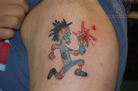 juggalette tattoos juggalo images designs