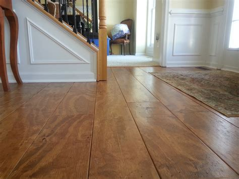 Distressed Plywood Floor - wide plank distressed pine flooring cheap updated 2 5 17